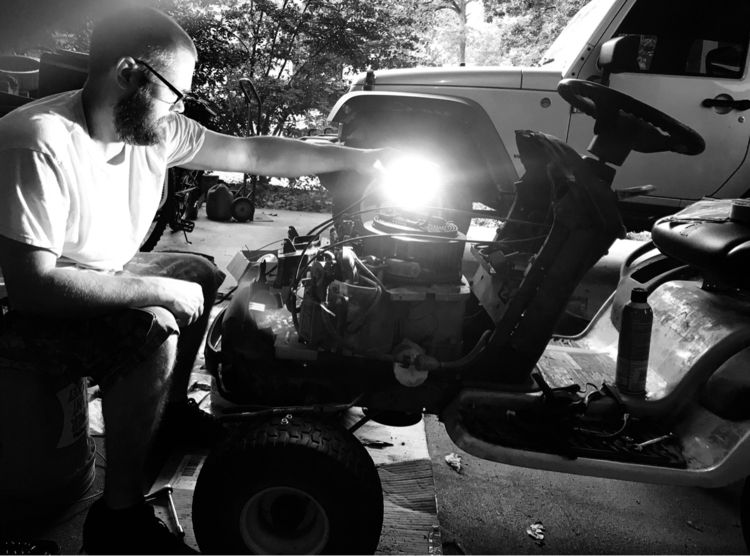 Making lawnmower magic - bnw, mylife - jrcline | ello