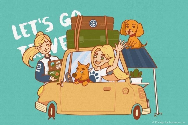 road, trip, pet - fetchope | ello