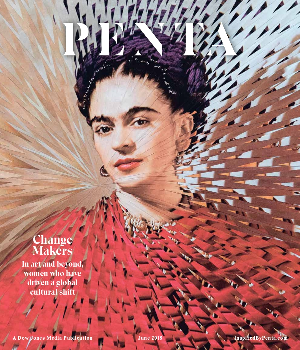 Frida Kahlo Penta Magazine June - loladupre | ello