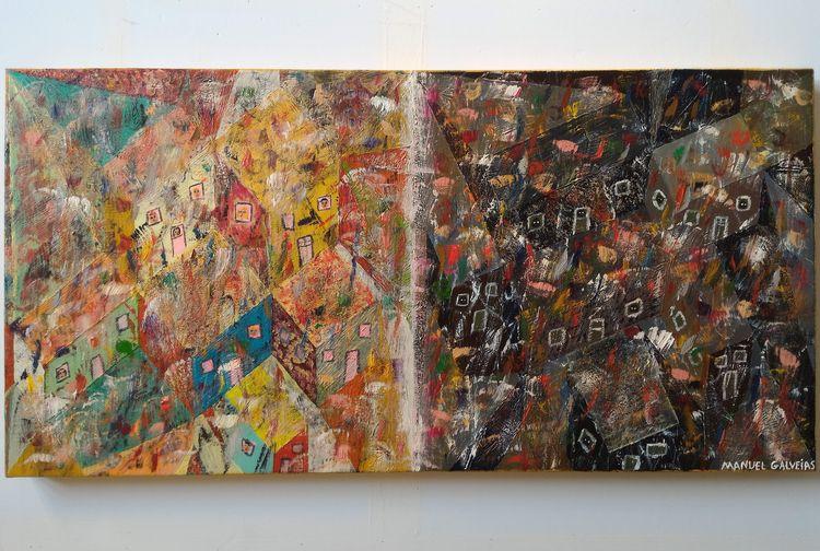 80x40cm Oil canvas Manuel Galve - galveias   ello