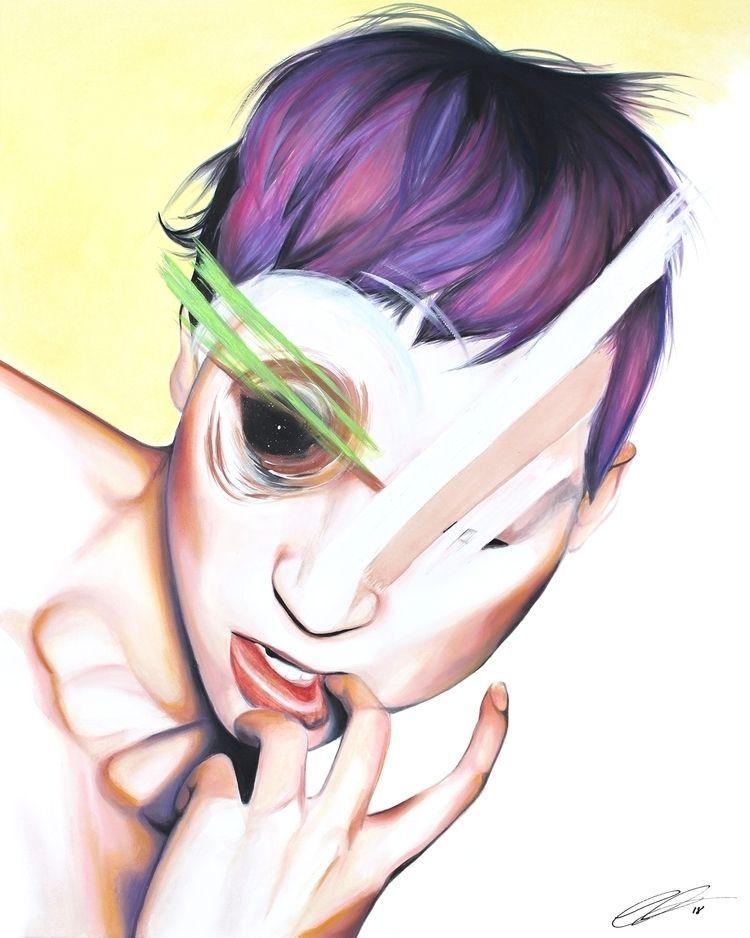 IRRATIONAL FEAR Watercolor, pas - defectivebarbie | ello