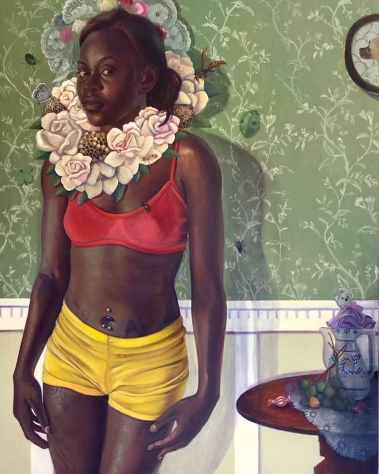 painting Alicia Brown - dulcemenendez | ello
