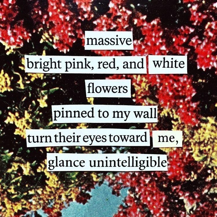 poem, poetry, collage, ellocollage - thistlequiff | ello