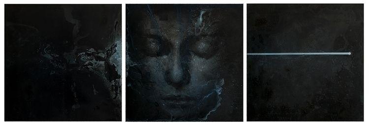 Sleep line , 2013 acrylic polyv - edgarinvoker | ello