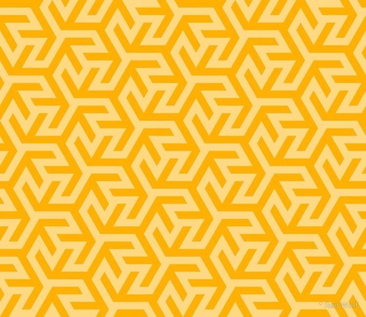 Geometric Pattern: Triskelion F - red_wolf | ello
