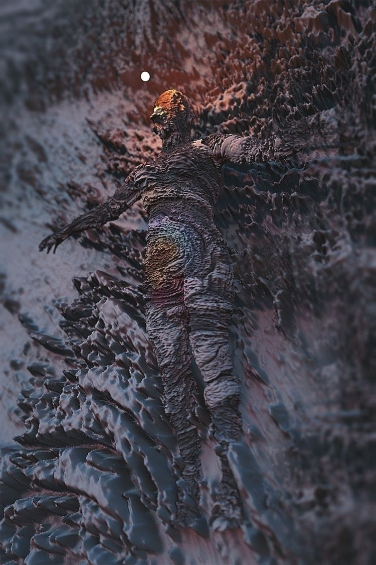 human, consciousness, landscape - resineux | ello