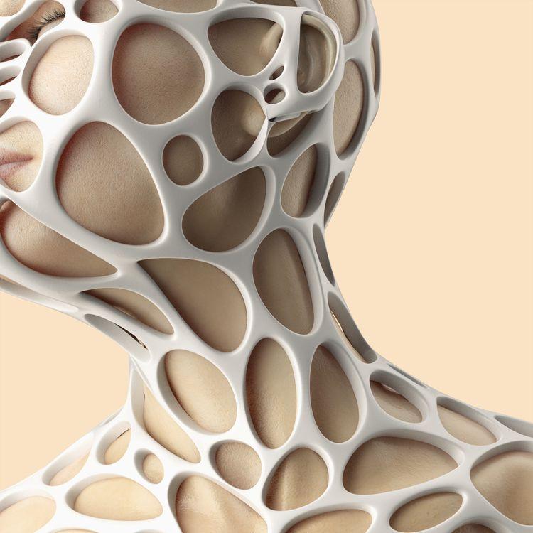 Caged - Skin patterns 05 - rendering - mattiafalo | ello