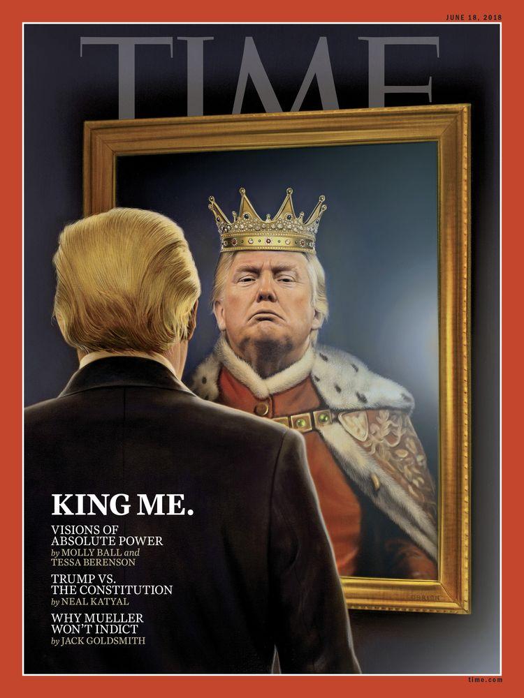 'King Cover art Time Magazine - timobrien | ello
