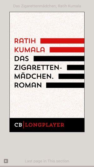 Gelesen: »Das Zigarettenmädchen - sr_rolando | ello
