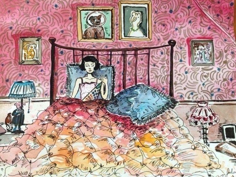 Amelie Poulain photo album illu - julietprochet   ello