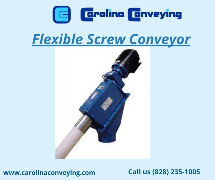 Screw Conveyors convey material - carolinaconveying | ello