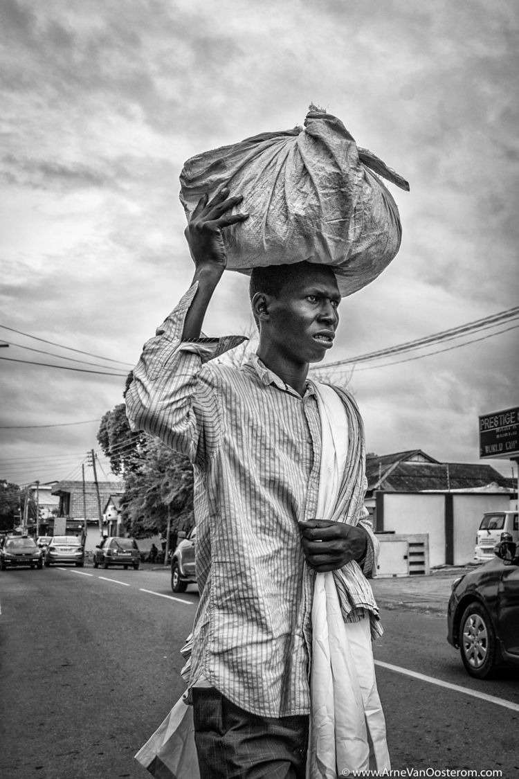 People Accra, Ghana - streetphotography - arnevanoosterom | ello