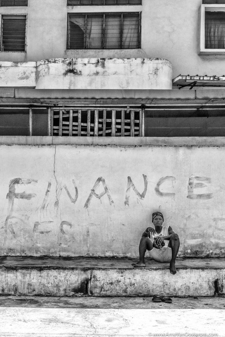 People Accra, Ghana - streetphotography - arnevanoosterom   ello