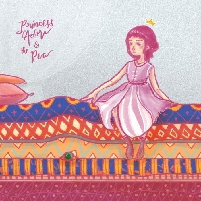 Princess Pea inspired commissio - zyxconde | ello