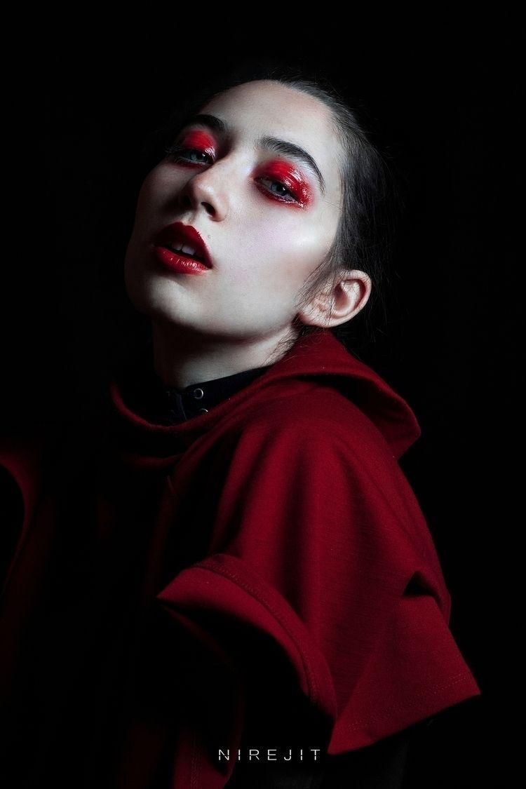 black project Nirejit - portrait - nirejit | ello