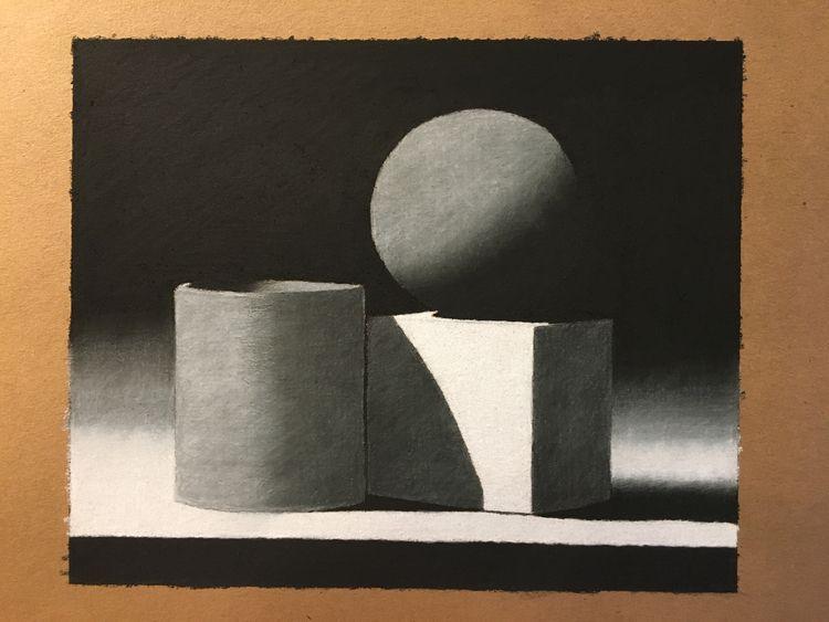 Moving drawing exercises. Charc - mythofamanda   ello