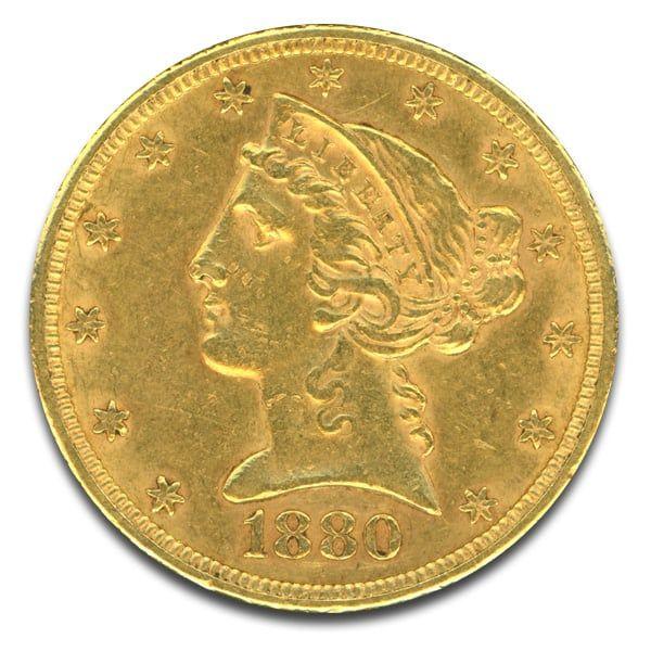 $5 Liberty Gold Coin - moneymetals | ello