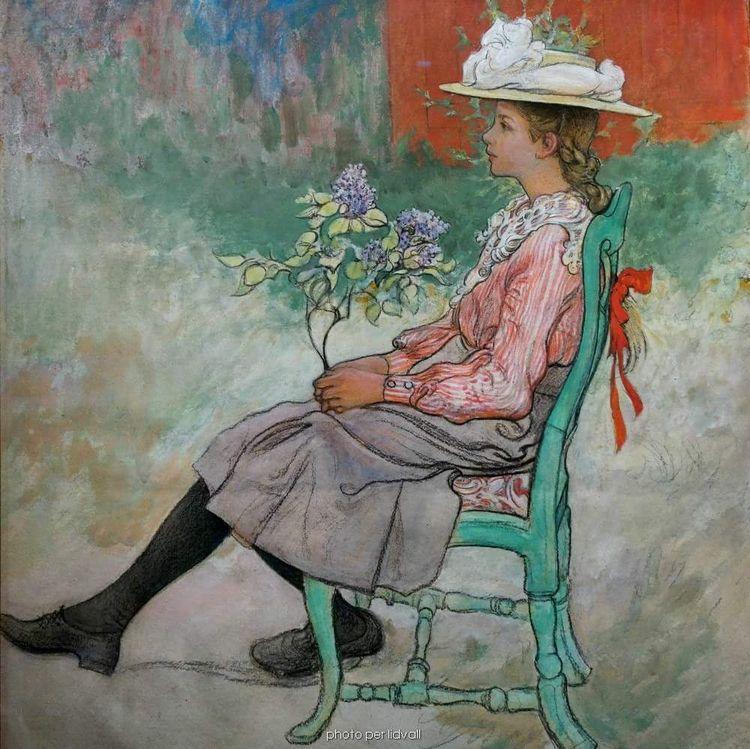 Painting Fanny Brate - almaraye   ello