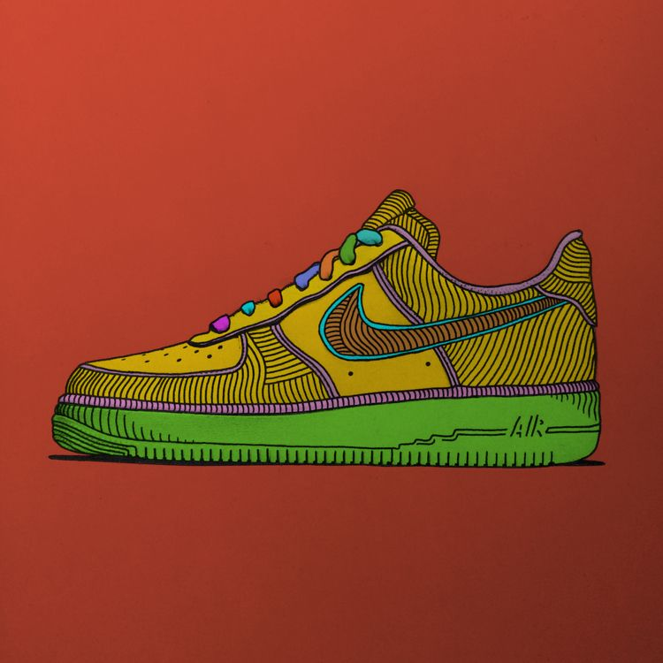 justdoit, nike, illustration - brokoola | ello