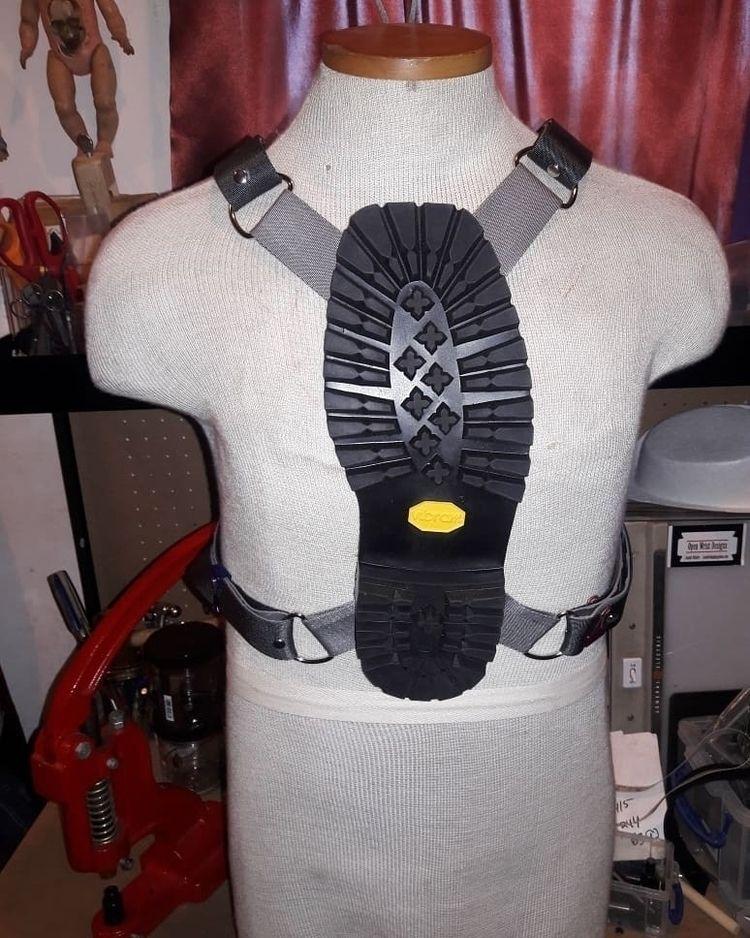couple Boot harnesses started.  - josephopenwrist | ello