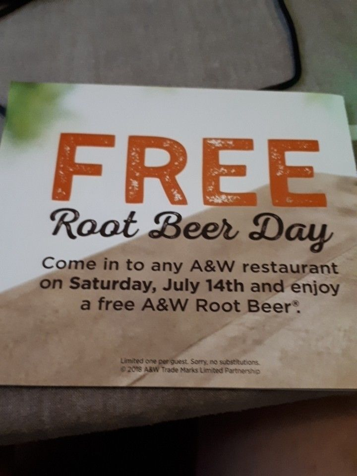 Saturday, July 14th - FreeRootBeerDay - lordkrazymoose | ello
