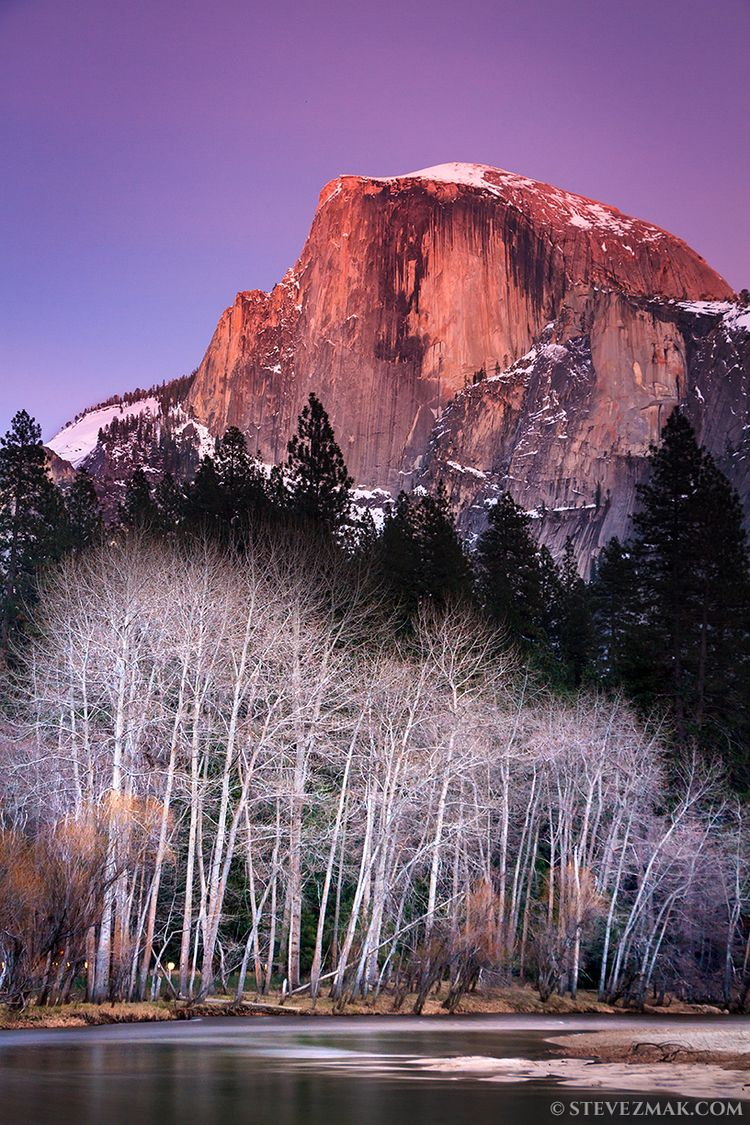 Dome Alpenglow, Yosemite, 2018  - stevezmak | ello