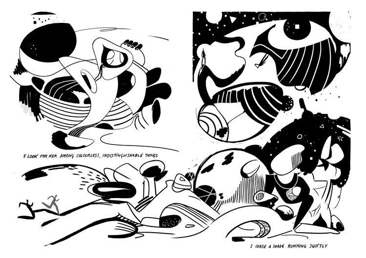RUN HILLS' 2/7 Comic book - illustration - cesdavolio | ello