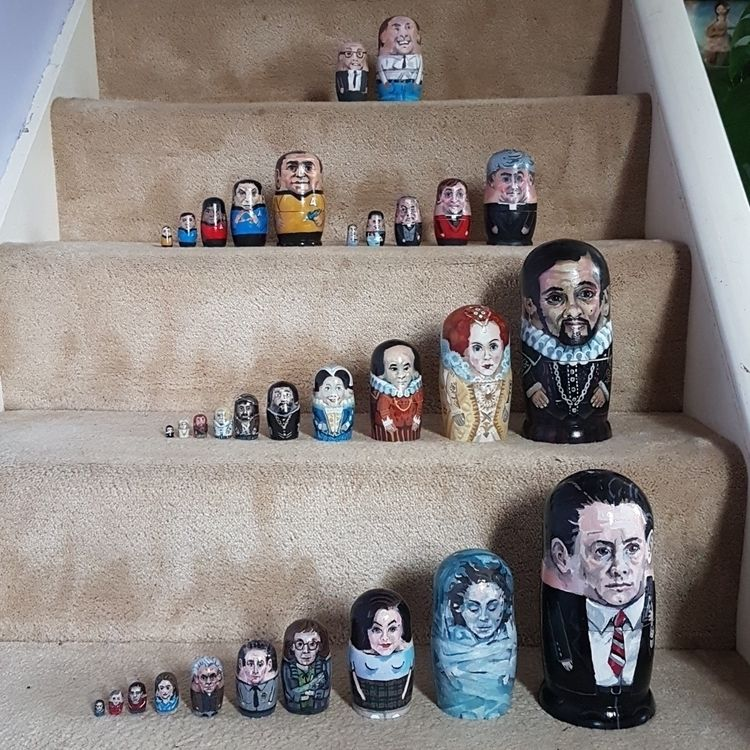 Russian doll collection - startrek - forgeard | ello