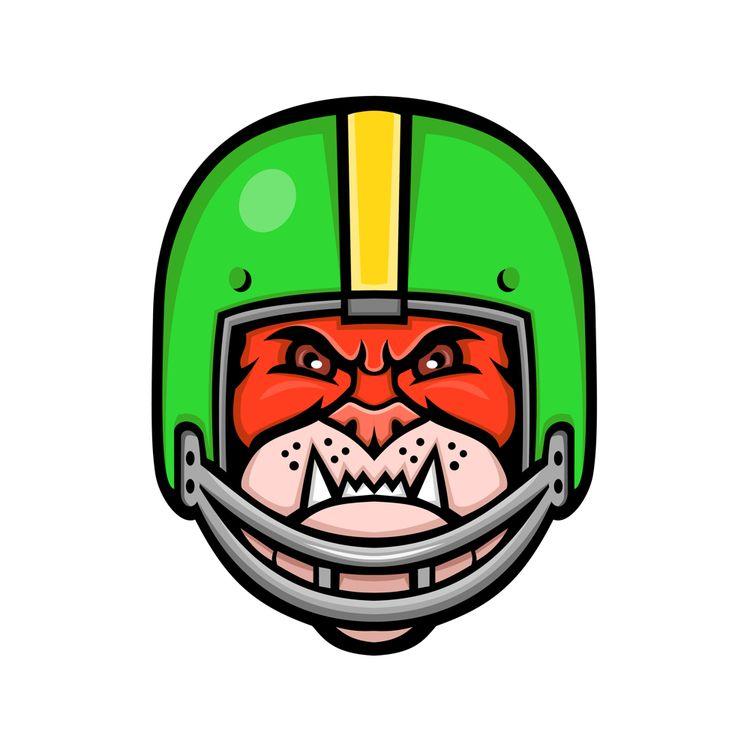 Bulldog American Football Masco - patrimonio | ello