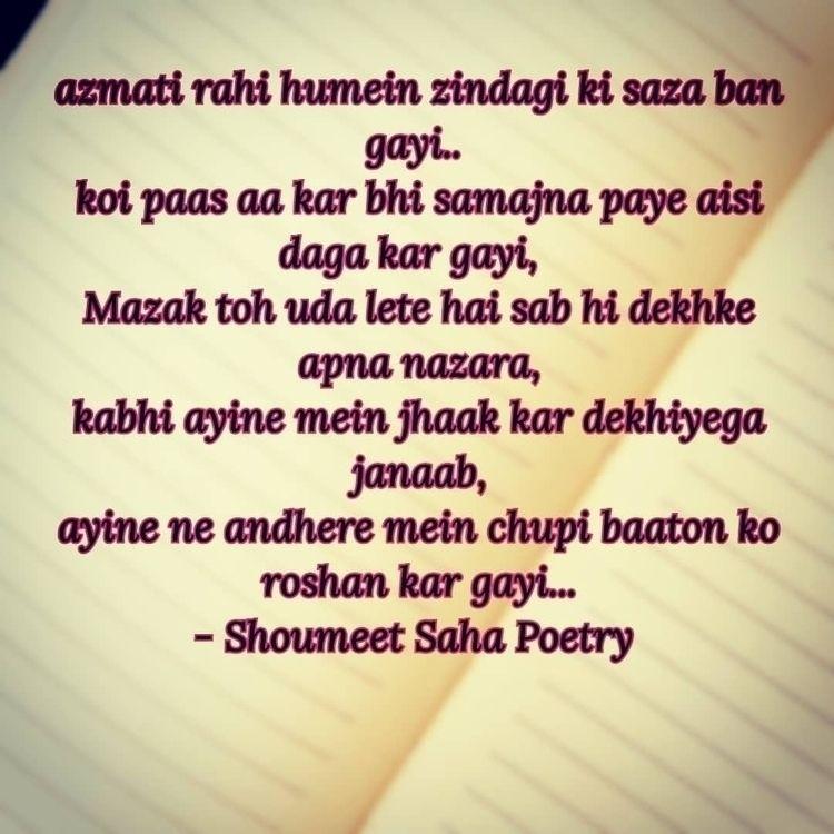 shoumeetsahapoetry, imagepoetry - shoumeet_saha_dxb | ello
