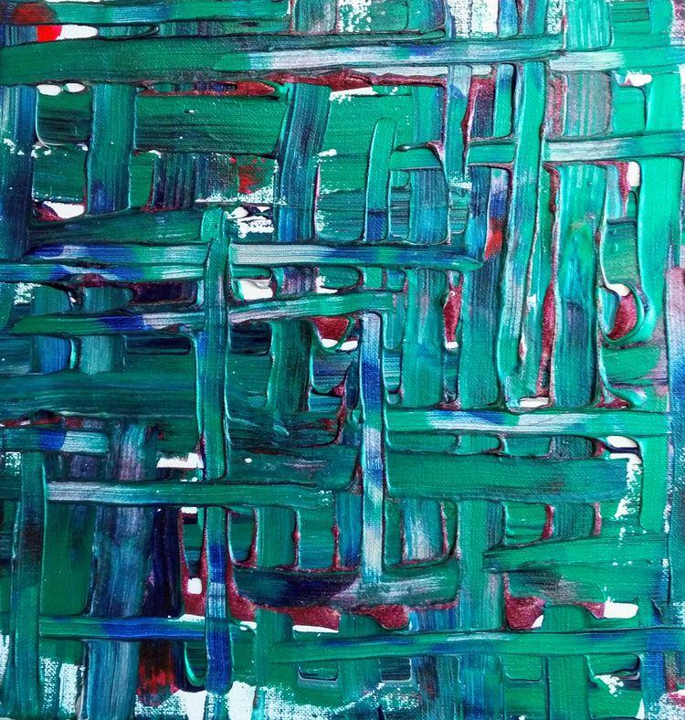 Acrylic Weave - allartisrelative | ello