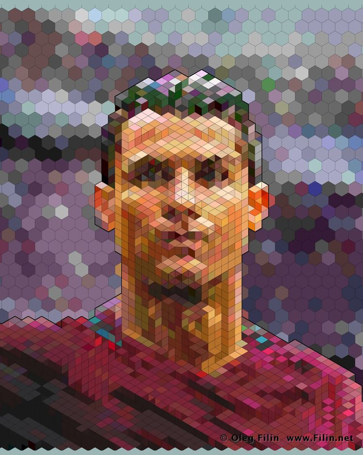 CR7 (draft) digital art Oleg Fi - filin | ello
