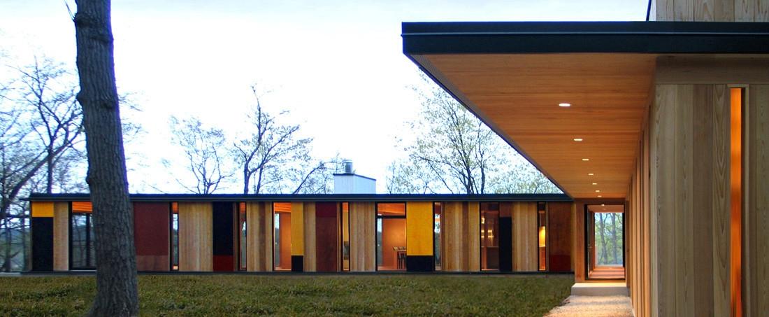 Camouflage House Johnsen Schmal - thetreemag   ello