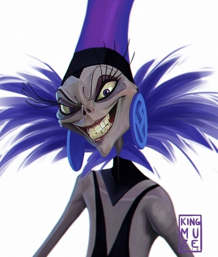 YZMA - Digital Painting Follow  - kingmuze | ello