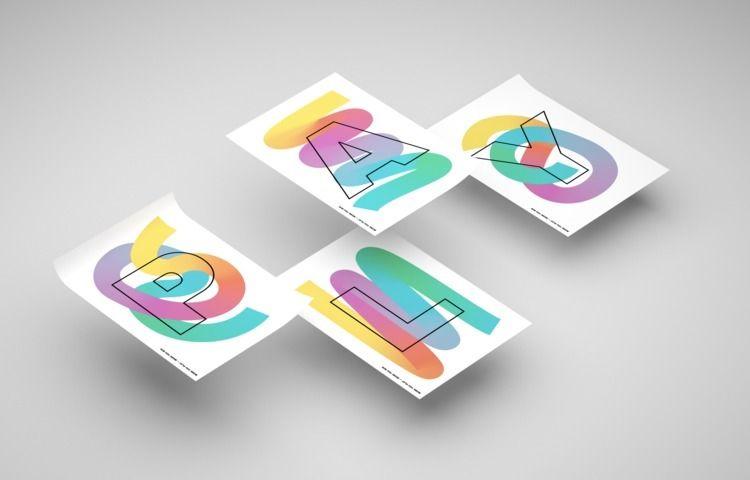 PLAY - graphicdesign, design, art - guillermotorres | ello