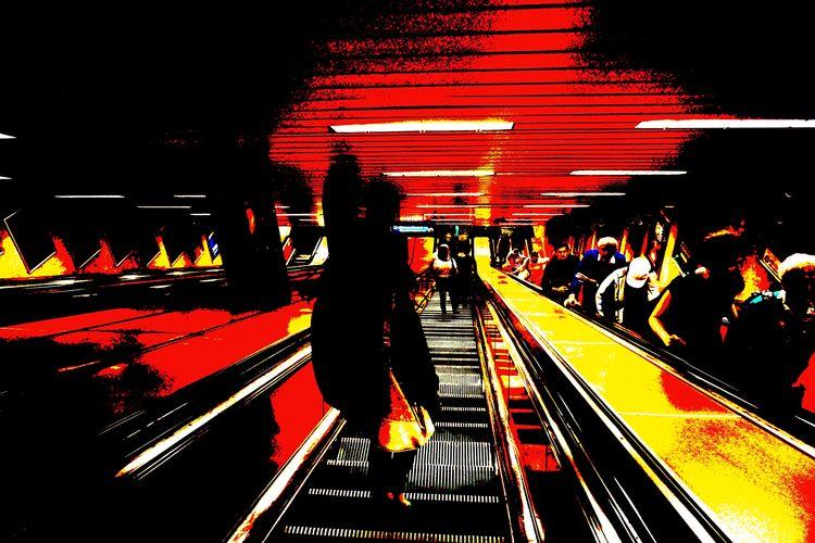 underground, Budapest, photography - annamigchels | ello