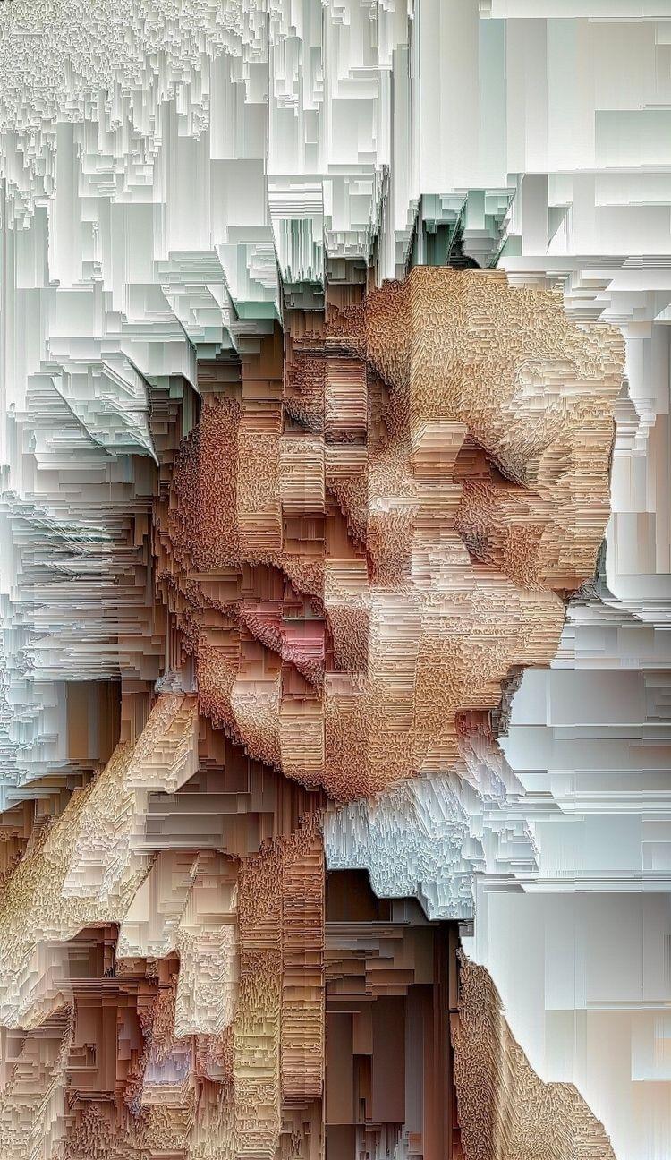 ⌻ subsiding  - digitalart, abstractart - ikatch   ello