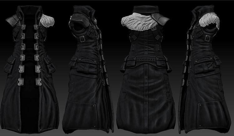 coat designed video game years  - rykka | ello