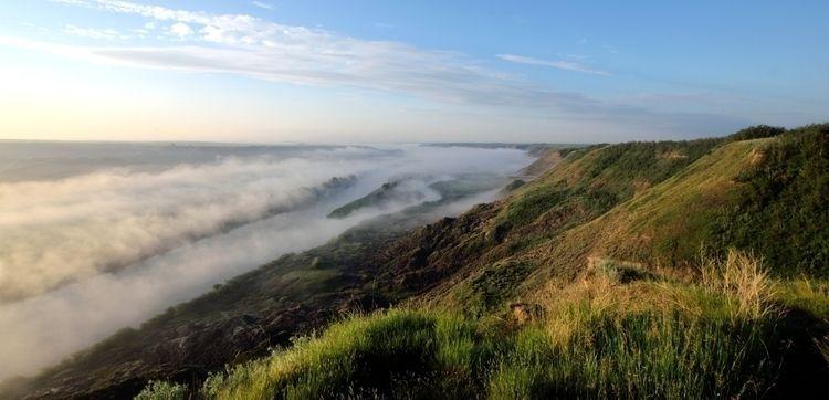 Misty Badlands west mountains,  - camwmclean | ello