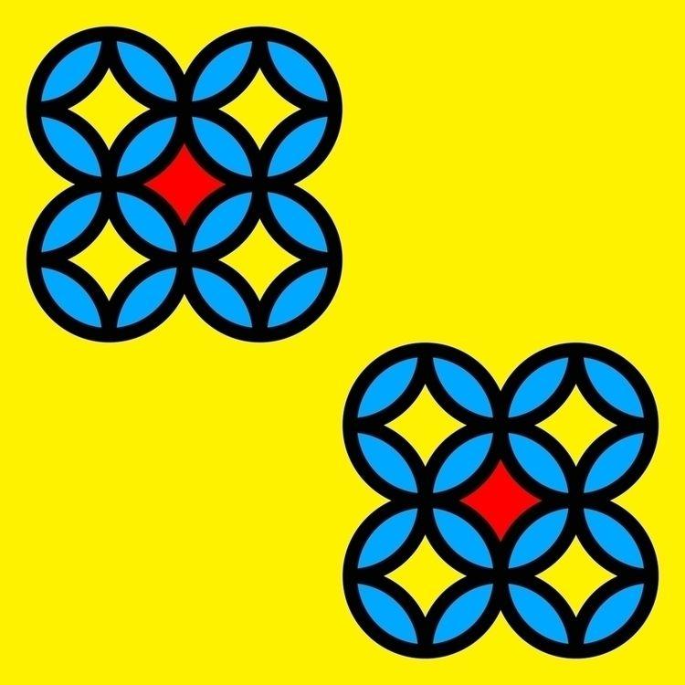 Colored Circles Yellow Board Di - istvanocztos | ello