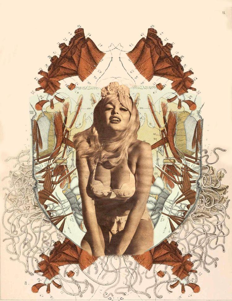 erotic, eroticollage, surrealism - leylani | ello
