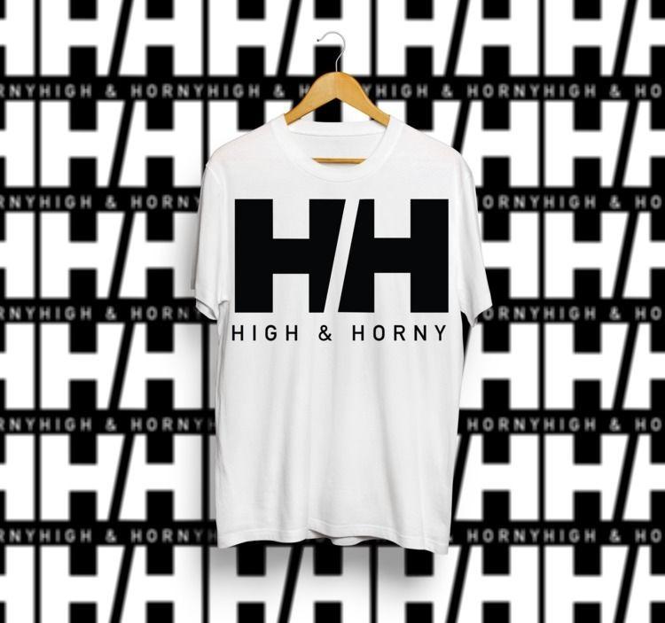 logo, high, horny, tshirt - augustinism | ello