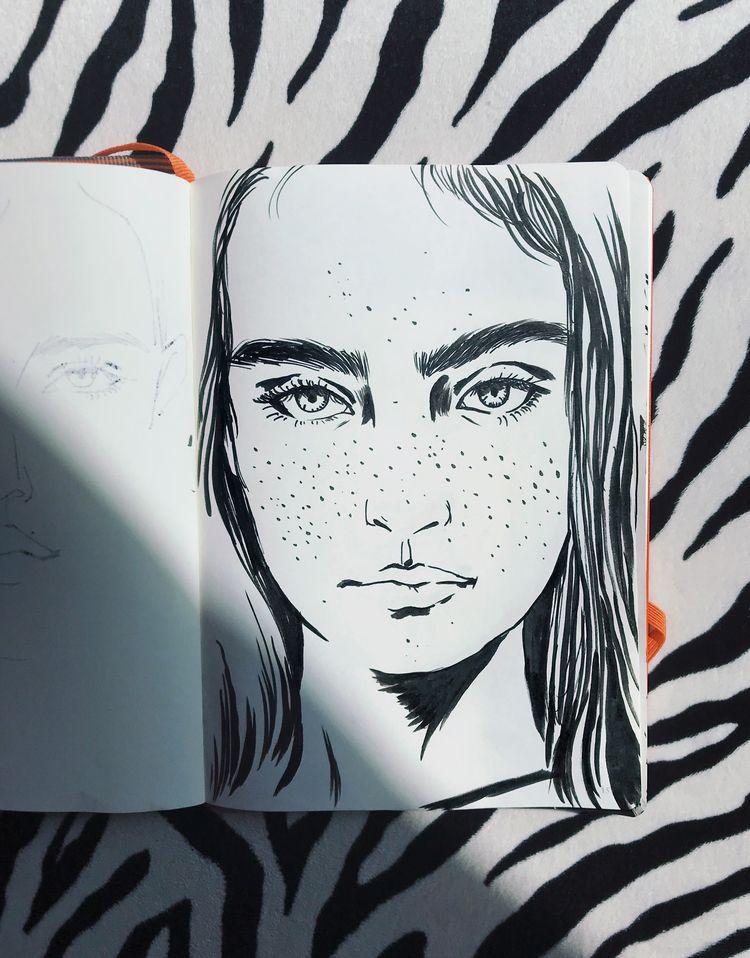 Daily Drawing - Everydaydrawing - eunjeongyoo | ello