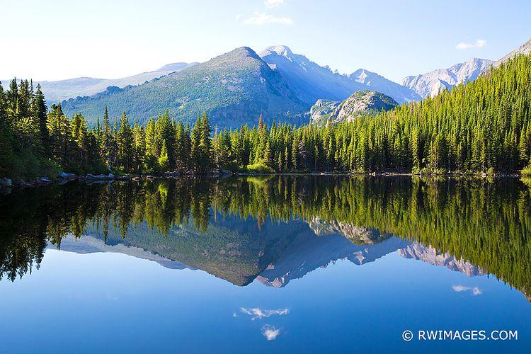BEAR LAKE SUMMER ROCKY MOUNTAIN - robert-wojtowicz-photography | ello