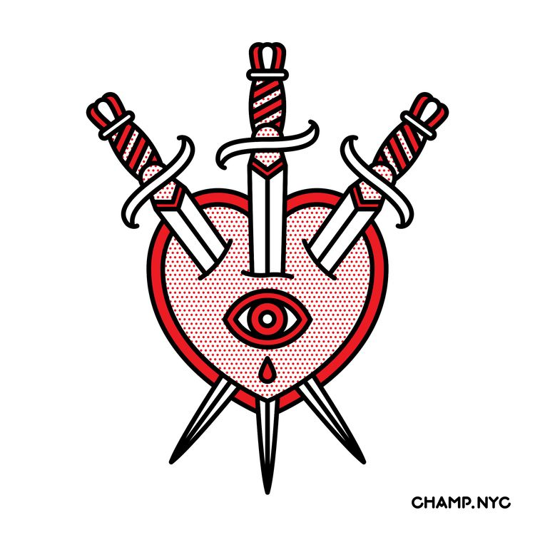Swords - champnyc, illustration - champnyc | ello
