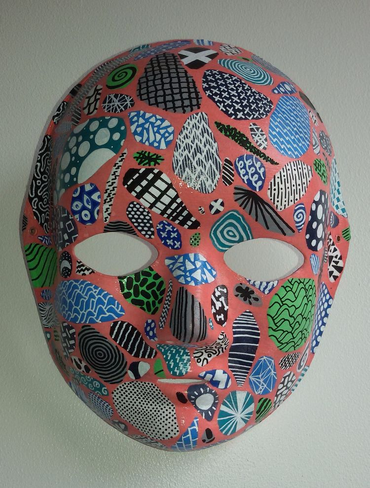 PATTERNED MASK Layers Posca mar - iamstml | ello