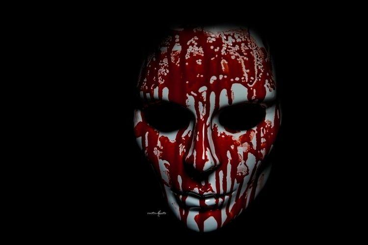 mask 3 - blood, scary, gore, horror - ruitingphoto   ello
