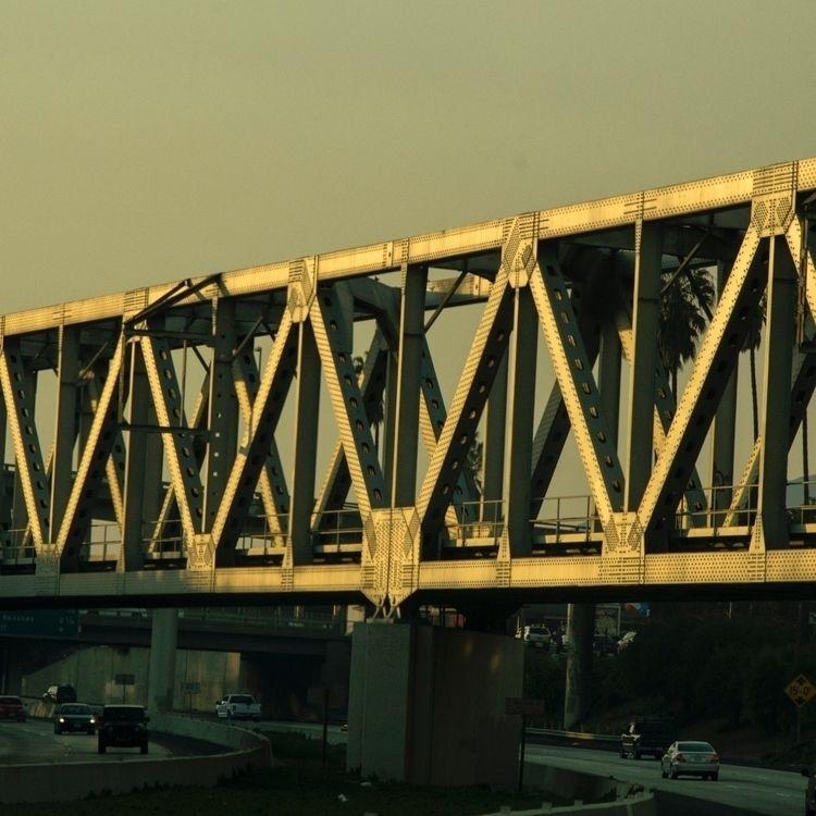 driving, sunset, bridge, beauty - talyo   ello