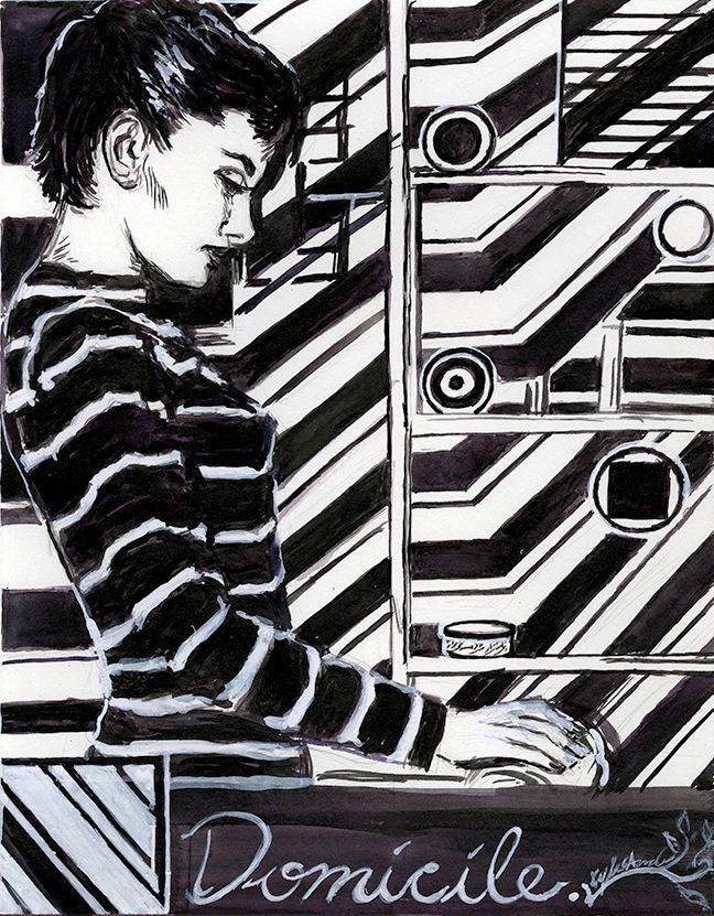 Domicile - Illustration abode - kyleand | ello