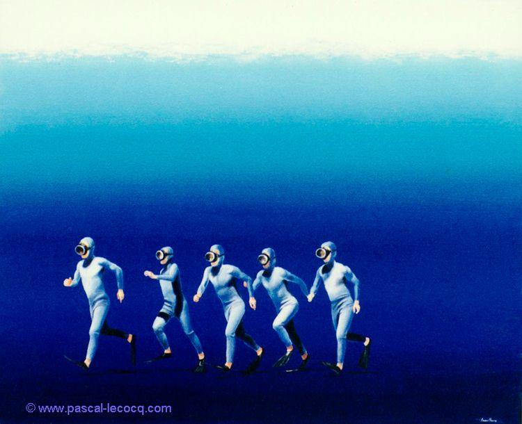 COURANTS MARINS - Running strea - bluepainter   ello